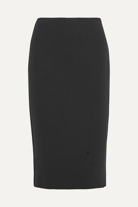 The Row Rabina Stretch-jersey Midi Skirt - Black