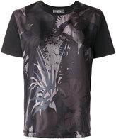 Salvatore Ferragamo printed satin-twill T-shirt