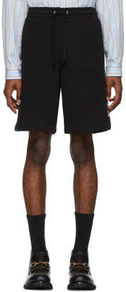 Gucci Black Logo Shorts