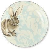 Williams-Sonoma Damask Easter Bunny Serving Bowl