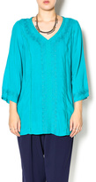 Monoreno Totally Turquoise Tunic
