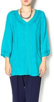 Monoreno Totally Turquoise Tunic