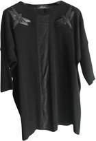 Cesare Paciotti Black Wool Knitwear for Women