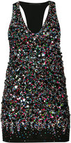 Haider Ackermann sequinned tank top - women - Silk/Cotton/Spandex/Elastane/Sequin - XS
