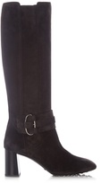 Tod's Gomma knee-high suede boots