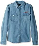 HUF Men's Wyatt LS Woven Shirt