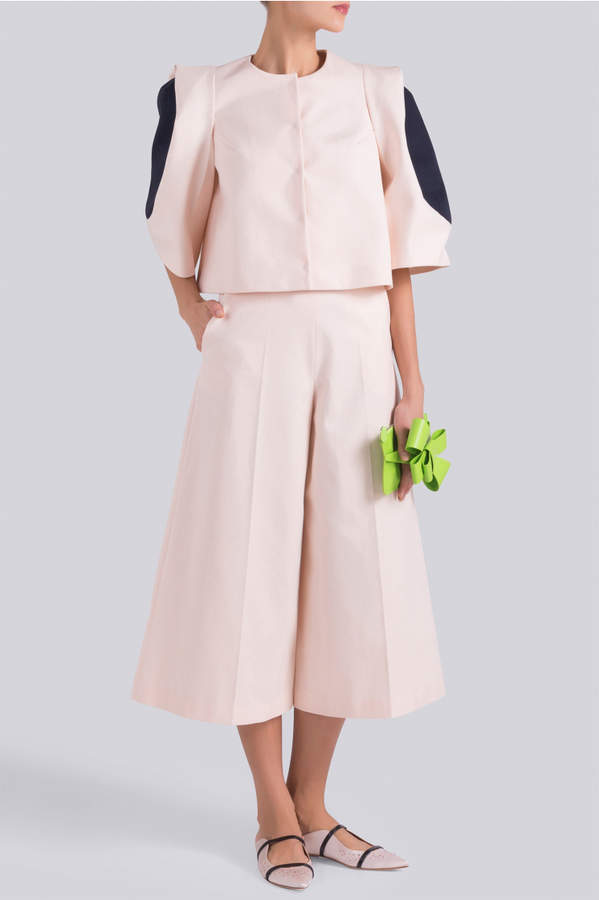 DELPOZO Colour Contrast Jacket