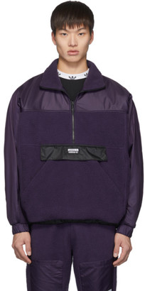 adidas Purple Vocal Track Pullover