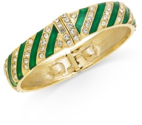 Charter Club Holiday Lane Pave Candy Bangle Bracelet, Created for Macy's