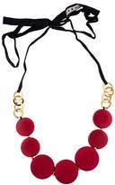 Marni Circle Resin Necklace
