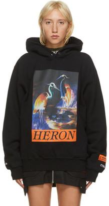 Heron Preston Black Heron Times Hoodie