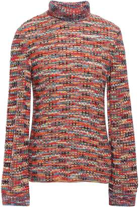 Missoni Waffle-knit Wool Turtleneck Sweater