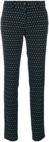 Etro slim fit patterned trousers