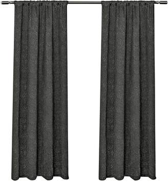 Home Outfitters Embossed Satin Small Window Curtain