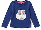 Joules Little Girls 3-6 Rava Hamster Jersey Top