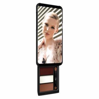 Samsung Pout Case Utterly Cherry Mocha Kit Phone Makeup Case For S8 Plus Black & Black Case
