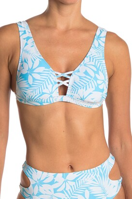 Vyb Tropical Strap Halter Top