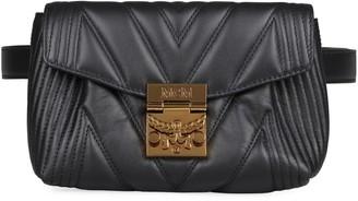 MCM Patricia Leather Belt Bag
