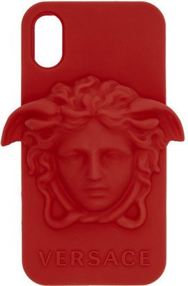 Versace Red Medusa iPhone X Case
