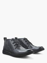 John Varvatos Leather Chukka