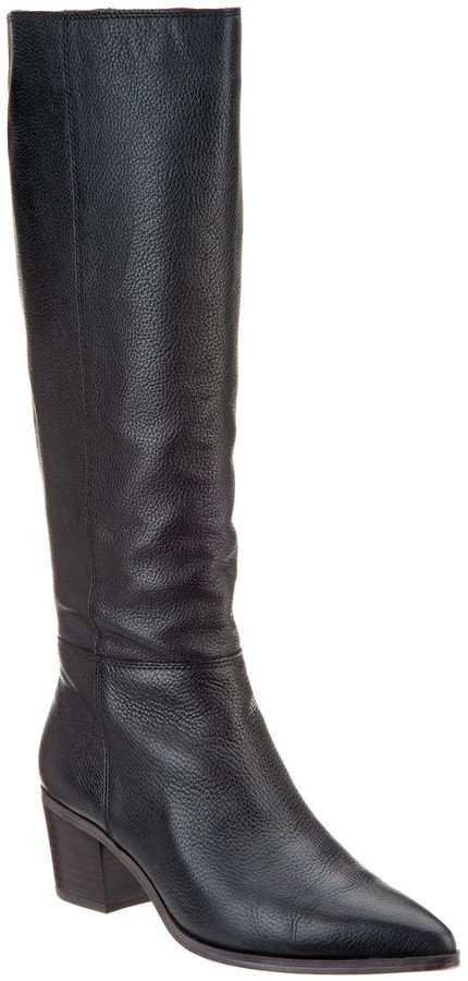 a6c99809bca Leather or Suede Tall Shaft Boots - Sharona