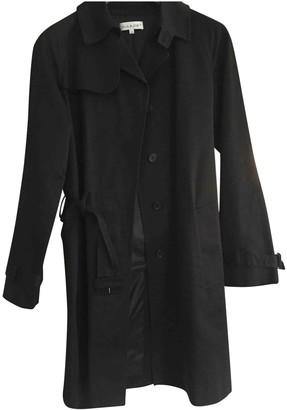 Paul & Joe Black Cotton Trench Coat for Women