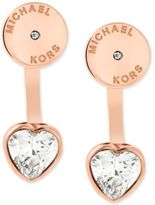 Michael Kors Disc Stud Heart Earring Jackets