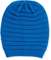 Portolano Wool-Blend Slouchy Hat, Nautical Blue