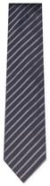 Jil Sander Silk Two-Tone Striped Tie