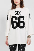 Urban Outfitters UNIF Six 66 Jersey Top