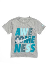 Nike Boy's Awesomeness T-Shirt