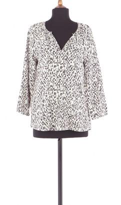 Comptoir des Cotonniers Beige Silk Top for Women