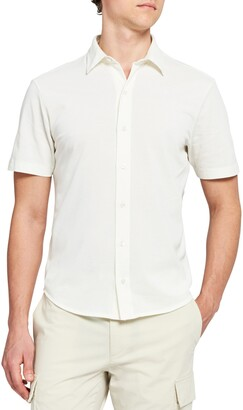 Theory Fairway Short Sleeve Button-Up Shirt