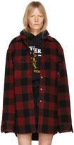 Vetements Red Flannel Check Shirt