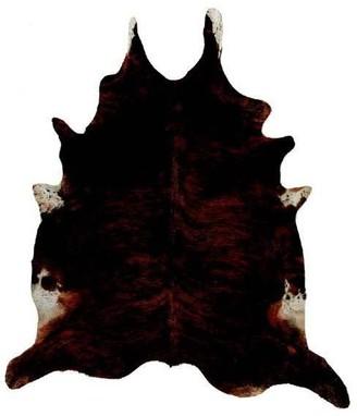 Leffler Dark Exotic Cow Hide