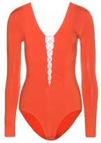 Alexander Wang Lace-up bodysuit