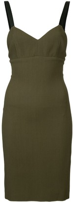 Neil Barrett Fitted Mini Dress