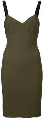 Neil Barrett fitted mini dress