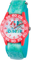 Disney The Little Mermaid Girls Blue Strap Watch-W002903