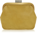 Ally Capellino Carey Yellow Frame Leather Purse