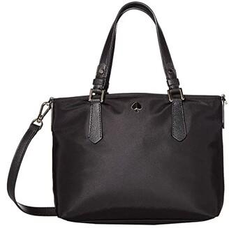 Kate Spade Taylor Small Crossbody Tote (Black) Handbags