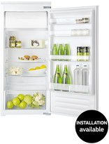 Hotpoint HSZ12A1D 122cm High, 55cm Wide Built-In Fridge With Optional Installation - White.