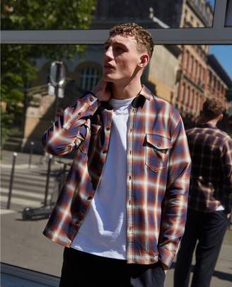 The Kooples Blue and red check cotton shirt