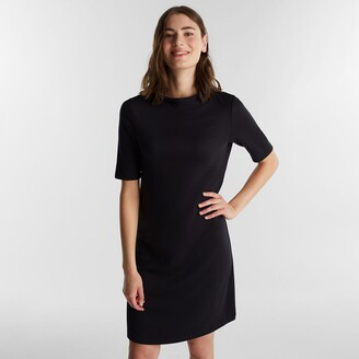 Esprit Short-Sleeved Shift Dress