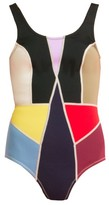 Cynthia Rowley Prism Colorblock Swimsuit
