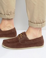 Jack and Jones Singapore Suede Boat Shoes