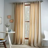 Studded Wool Curtains