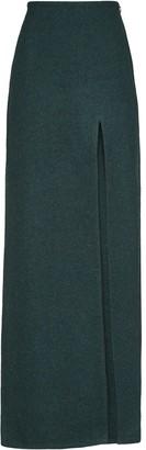 Miu Miu Shetland wool long skirt