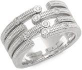 Judith Ripka Mercer Diamond & Sterling Silver Bativia Ring