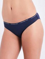 Tommy Hilfiger Logo-print jersey bikini briefs